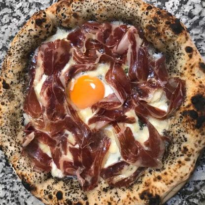 Pizza Trufa con Jamón