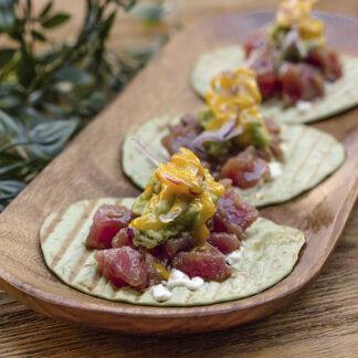 Tacos de atún